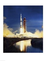 Apollo Saturn V Fine Art Print