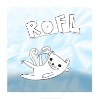 ROFL Cat by Tyler Kearns - various sizes