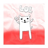 LOL Cat Fine Art Print