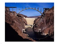 Hoover Dam Bypass Bridge Fine Art Print