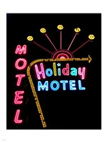 Holiday Motel, Las Vegas, Nevada Fine Art Print