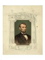 Abraham Lincoln - framed - various sizes
