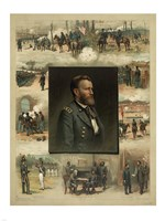 Civil War Grant from West Point to Appomattox Fine Art Print