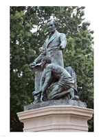 Lincoln statue Fine Art Print