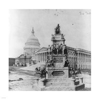 Lincoln Monument Fine Art Print