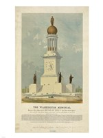 Original concept for the Washington Monument - various sizes
