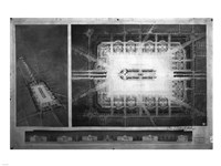 Proposed drawing for Independence Square, Washington Memorial II - various sizes - $29.99
