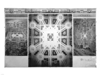 Proposed drawing for Independence Square, Washington Memorial III - various sizes - $29.99