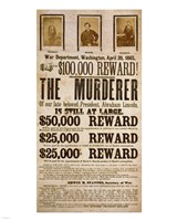 Wanted Poster Fine Art Print