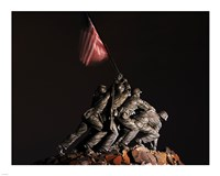 Iwo Jima Memorial I Fine Art Print