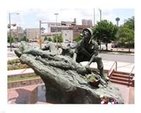 San Antonio Texas Vietnam Veterans Memorial Fine Art Print
