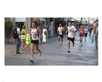 Jersey Marathon 2011 Fine Art Print