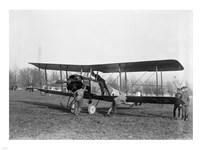 Allied Aircraft Before Flight Fine Art Print