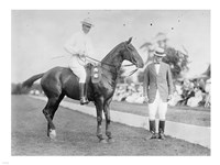 ARMY POLO Fine Art Print