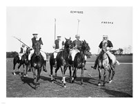 Edwards Freake and others Polo Fine Art Print