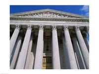 Low angle view of the U.S. Supreme Court, Washington, D.C., USA - various sizes