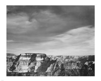 View from the North Rim, Grand Canyon National Park, Arizona, 1933 Framed Print