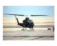 AH-1 Cobra helicopter Fine Art Print