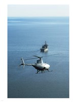 Fire Scout unmanned helicopter Fine Art Print