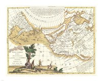 1776 Zatta Map of California and the Western Parts of North America, 1776 - various sizes
