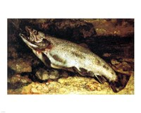 Gustave Courbet - The Trout - various sizes