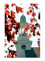 High section view of a church, Cape Cod, Massachusetts, USA Fine Art Print
