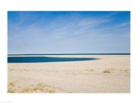 USA, Massachusetts, Cape Cod, panoramic view of beach Framed Print