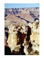 Moran Point Stacks Grand Canyon National Park Arizona USA Fine Art Print