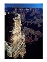 Grand Canyon National Park with Dark Sky Framed Print