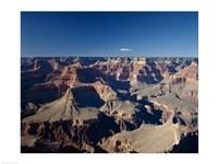 High angle view of a canyon, South Rim, Grand Canyon, Grand Canyon National Park, Arizona, USA Fine Art Print