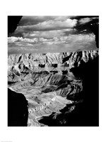 Grand Canyon National Park (wide angle, black & white) - various sizes, FulcrumGallery.com brand