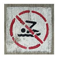 No Swimming - various sizes