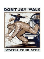 Don't Jay Walk - various sizes