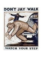 Don't Jay Walk - various sizes - $19.49