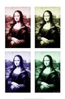 Moody Mona Fine Art Print