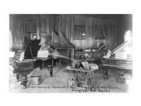 Edison's phonograph, Experimental Dept., Orange, N.J. Fine Art Print