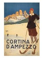 Cortina d'Ampezzo Fine Art Print