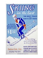 Skiing in the East The best trails and how to get there Fine Art Print