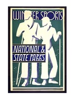 Winter sports, national & state parks - various sizes
