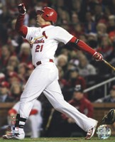"Allen Craig Home Run Game 7 of the 2011 MLB World Series Action (#36) - 8"" x 10"""