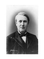 Thomas Edison Portrait Fine Art Print