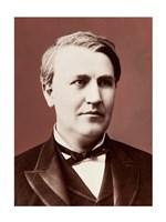 Thomas Edison c1882 Fine Art Print