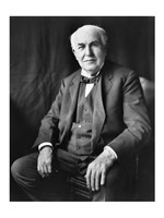 Thomas Edison Seated Fine Art Print
