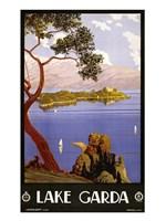 Lake Garda Travel Poster - various sizes - $29.99