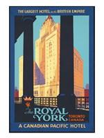 Royal York Poster Fine Art Print