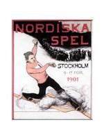 Nordiska spel affisch 1901 - various sizes
