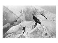Climbing Mt. St. Elias Fine Art Print