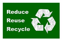 Reduce, Reuse, Recycle Fine Art Print