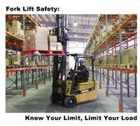 Fork Lift Safety Fine Art Print