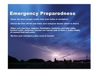 Emergency Preparedness Fine Art Print